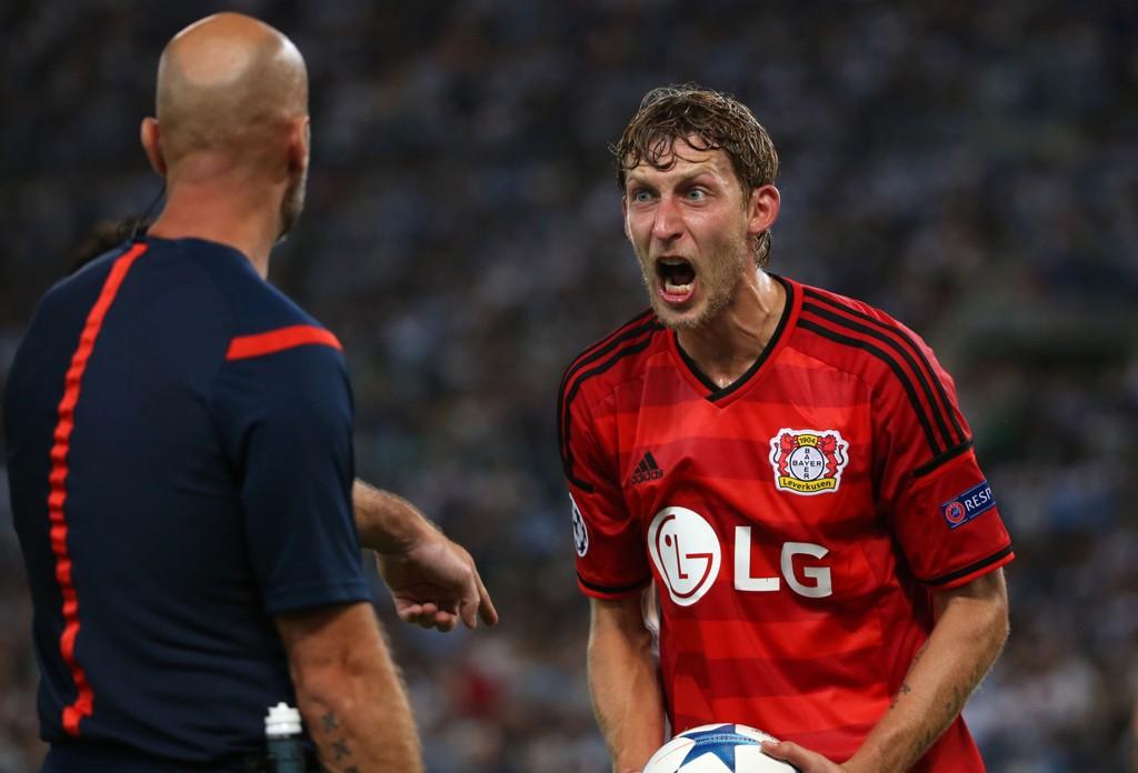 FRUSTRERTE: Bayer Leverkusen føler at de fortjente mer mot Lazio forrige uke.