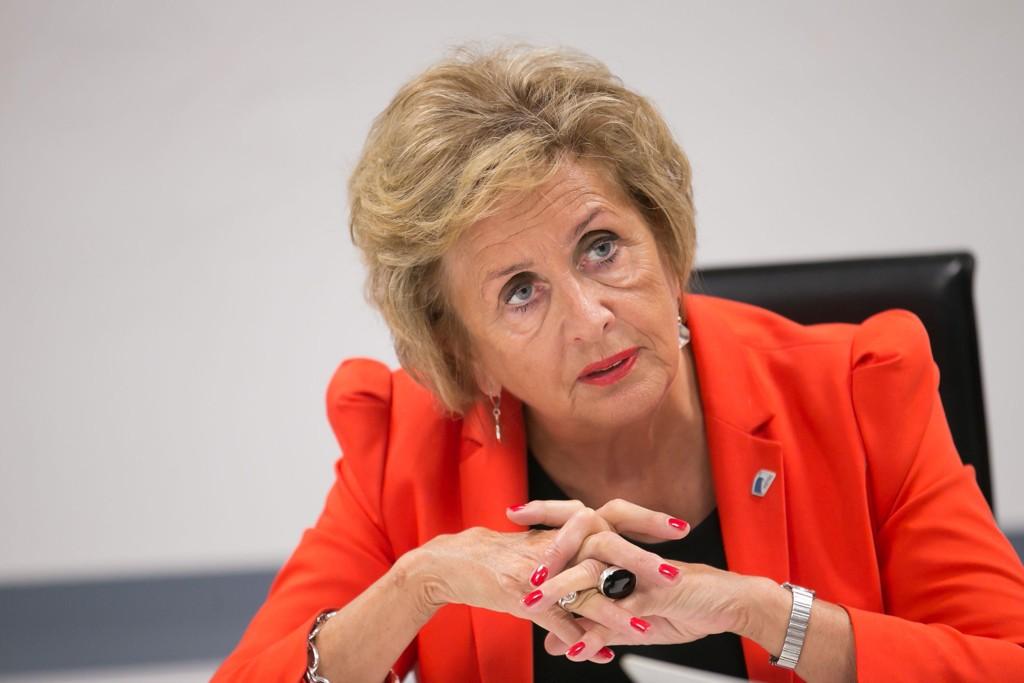 IKKE IMPONERT: Bergen-ordfører Trude Drevland (H) er lite imponert over Aps eldreplan. Torsdag er hun gjesteredaktør i Nettavisen.