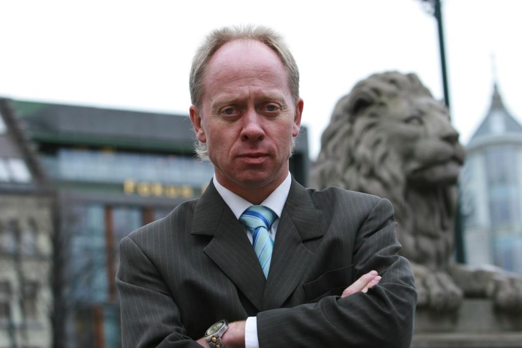GÅR IMOT: Fremskrittspartiets Jan Arild Ellingsen varsler motstand mot forslaget om datalagring som hans egen regjering har fremmet.