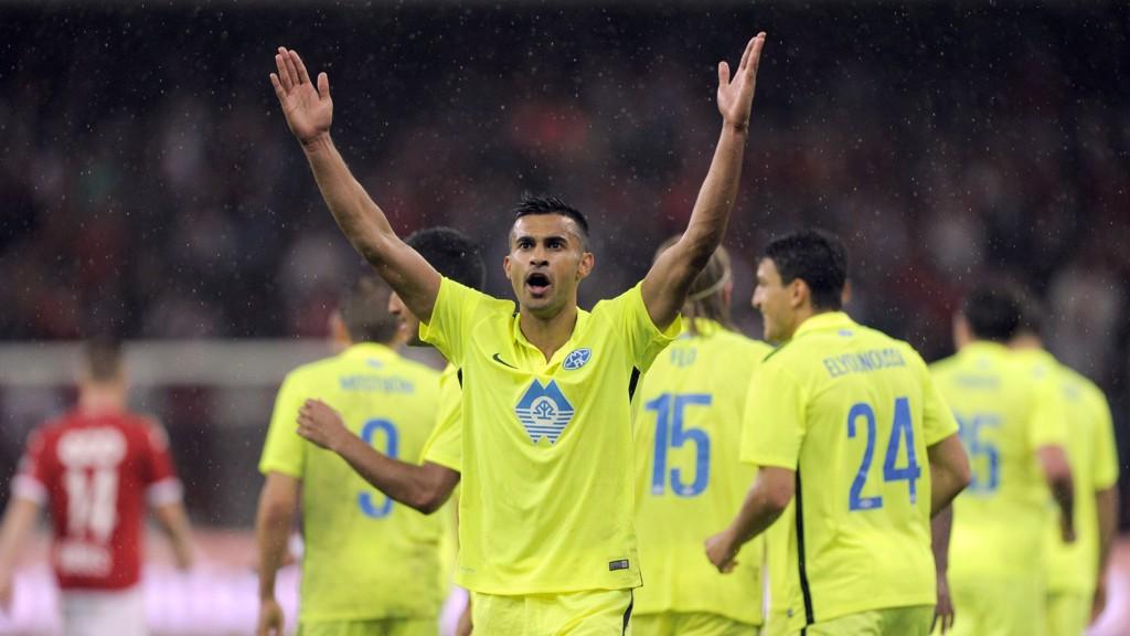 VIDERE: Til tross for tap borte mot Standard Liege, tok Molde seg videre til gruppespillet i Europa League.