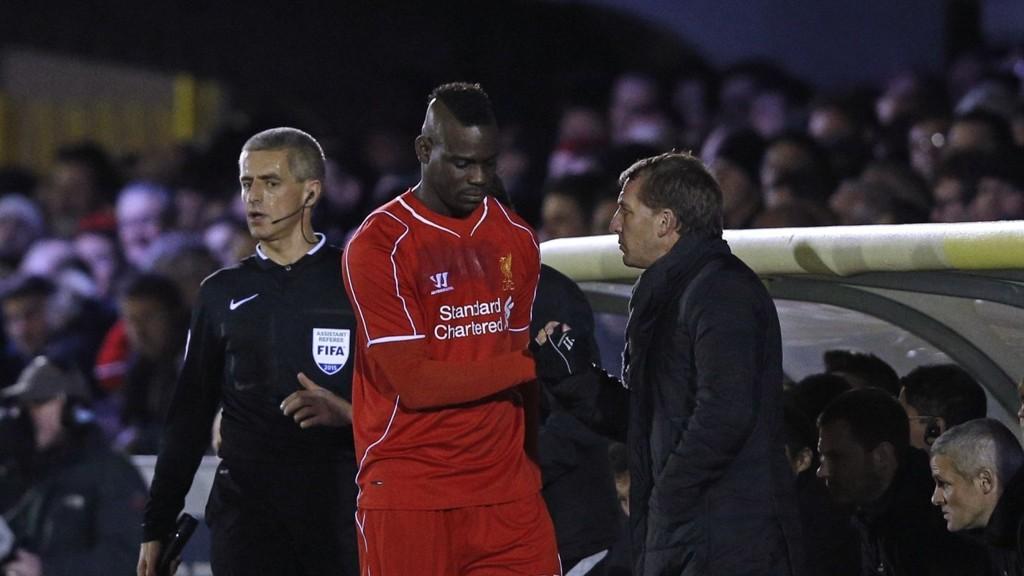FEIL: Mario BAlotelli forteller at grunnen til fiaskoen i Liverpool var spillestilen til Brendan Rodgers.