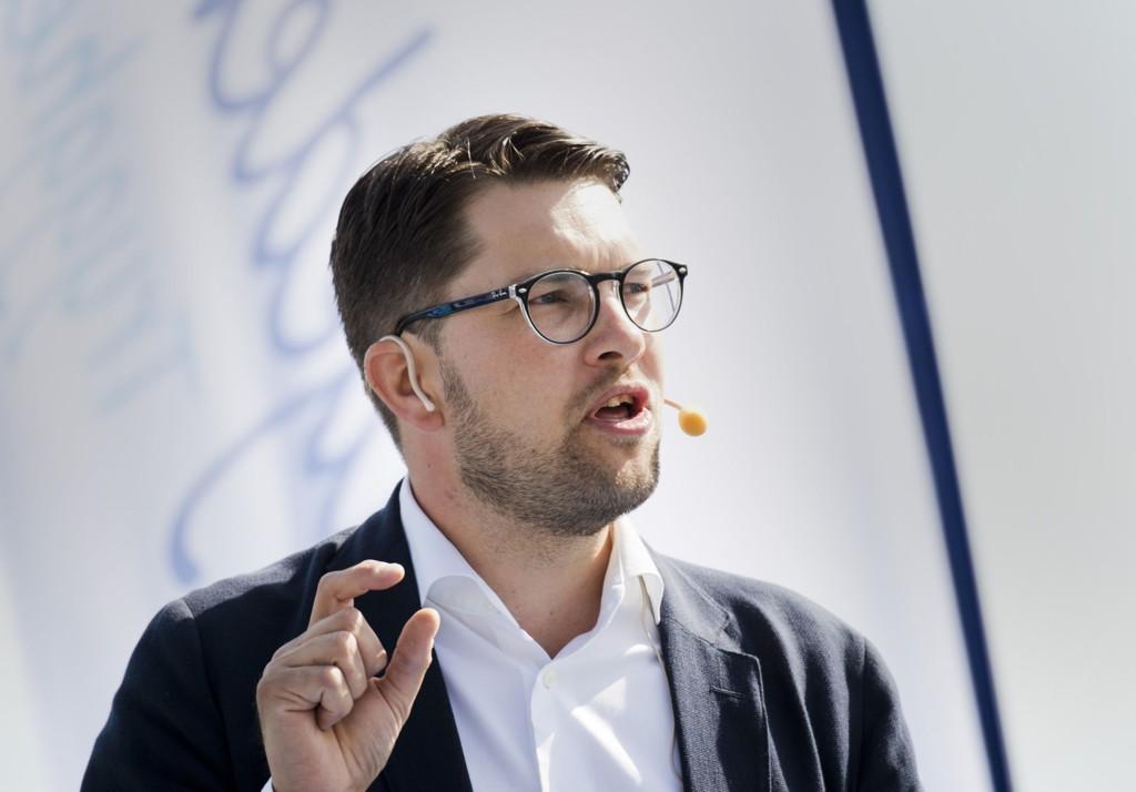 Sverigedemokraternas partileder Jimmie Åkesson er svært omstridt.