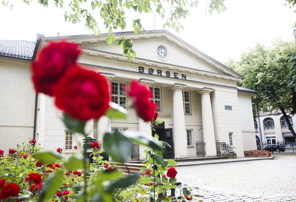 Oslo Børs faller. Foto: Berit Roald / NTB scanpix