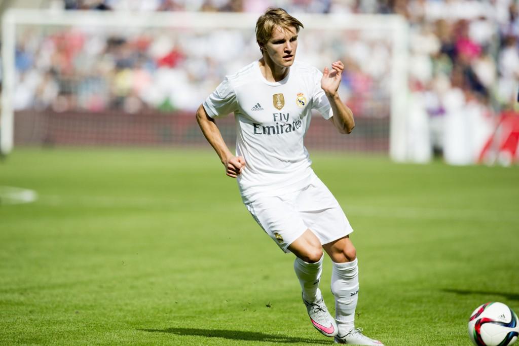 BLIR: Martin Ødegaard tar en sesong til for Real Madrids andrelag, Castilla. Det bekymrer i utgangspunktet ikke landslagssjefen nevneverdig.