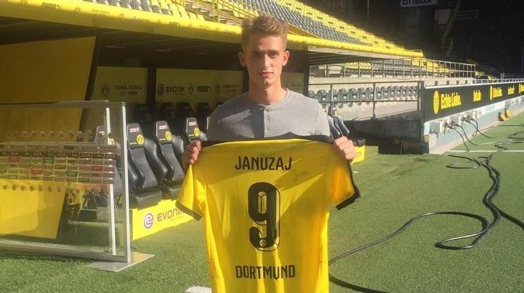 KLAR: Adnan Januzaj skal spille for Borussia Dortmund kommende sesong.