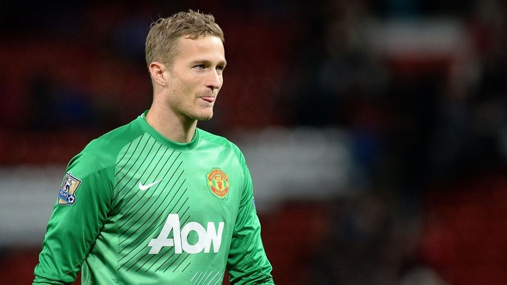 Anders Lindegaard er klar for West Bromwich.