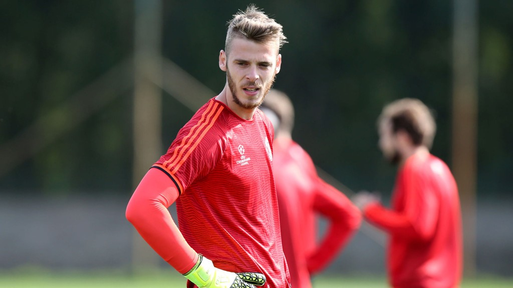 David de Gea er fortatt Manchester United-keeper.