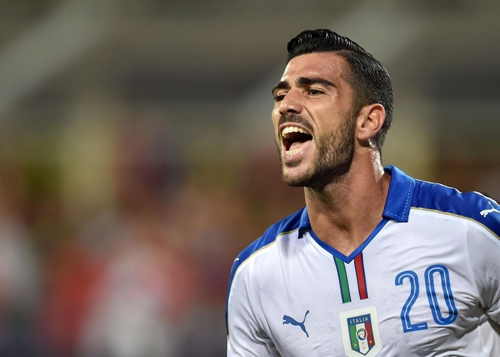 MÅLSCORER: Graziano Pellé scoret matchvinnermålet mot Malta.