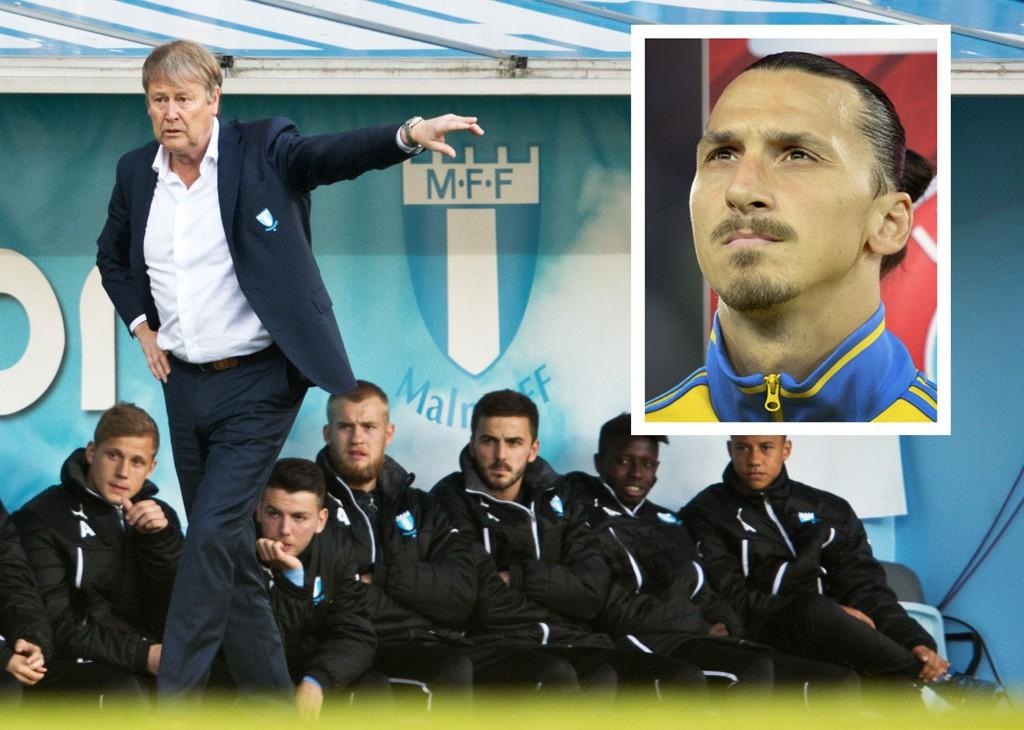 HAN MÅ VI STOPPE: Åge Hareide skal få en tøff jobb med å håndtere Zlatan og superstjernene i sin gruppe.