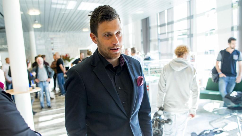 STOLT: Organisasjonssjef i Norges Ishockeyforbund, Kristoffer Holm, er stolt over å kunne fortelle om tidenes satsning i norsk hockey.