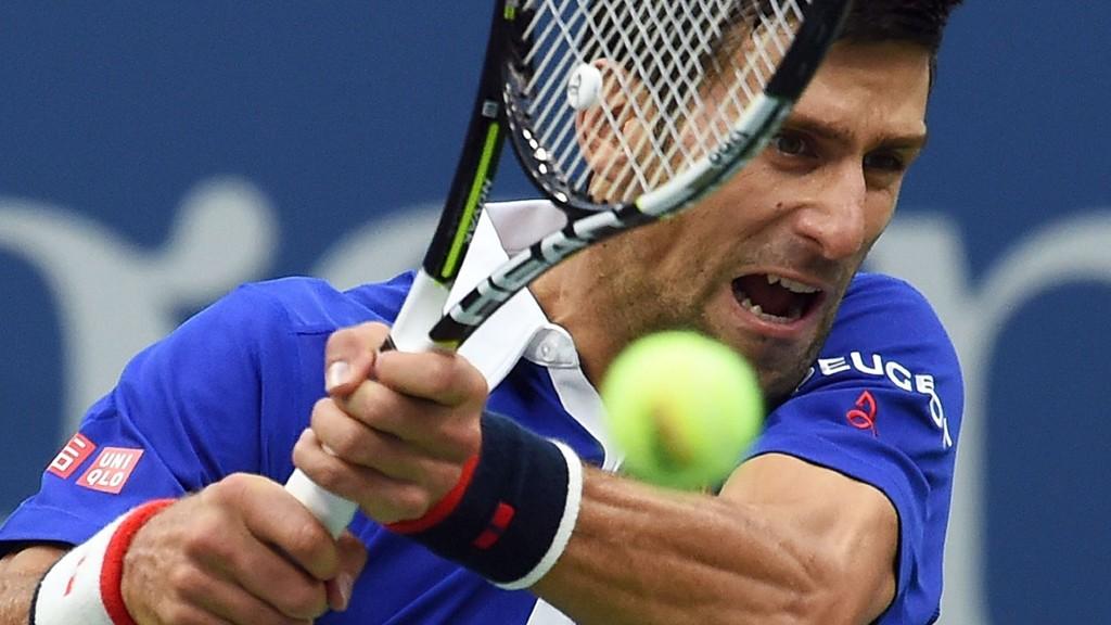 Novak Djokovic er favoritt til å vinne finalen av US Open. AFP PHOTO/JEWEL SAMAD