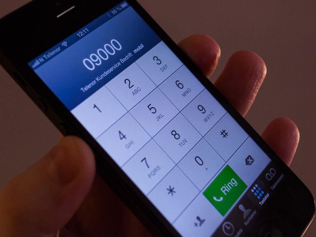 telenor kundeservice nummer