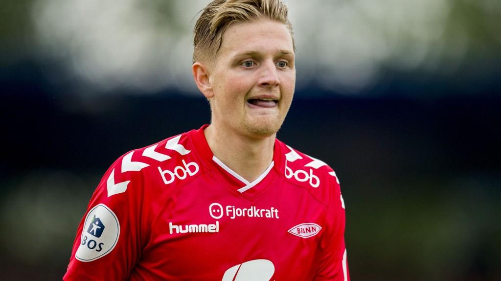 Erik Huseklepp har vist form i det siste og blir en av nøkkelspillerne for Brann hjemme mot Fredrikstad mandag. Foto: Vegard Wivestad Grøtt / NTB scanpix