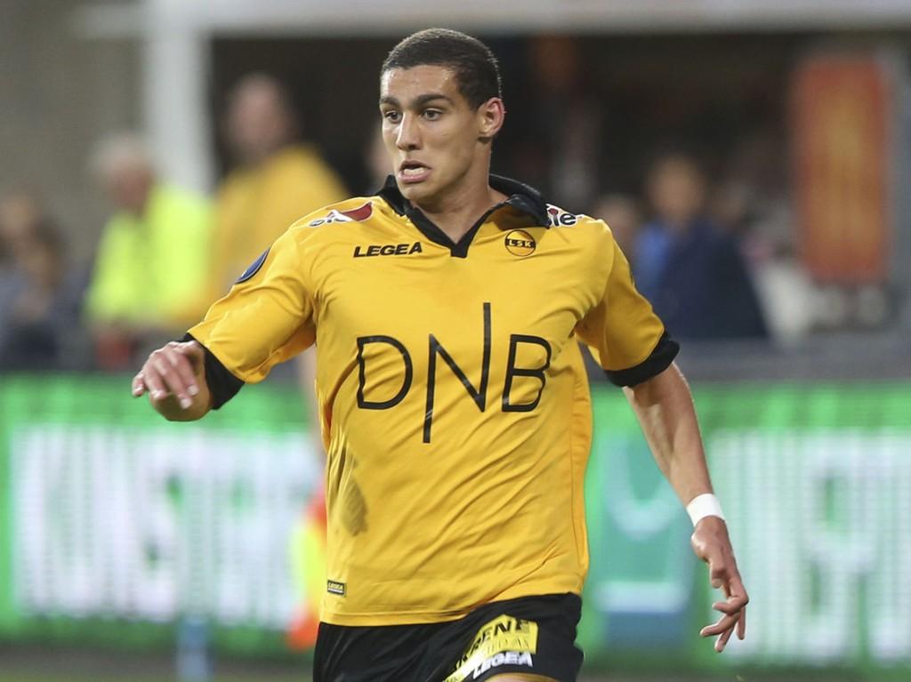 TALENT: Mohamed Ofkir er ett av LSK-talentene som har fått sjansen denne sesongen.