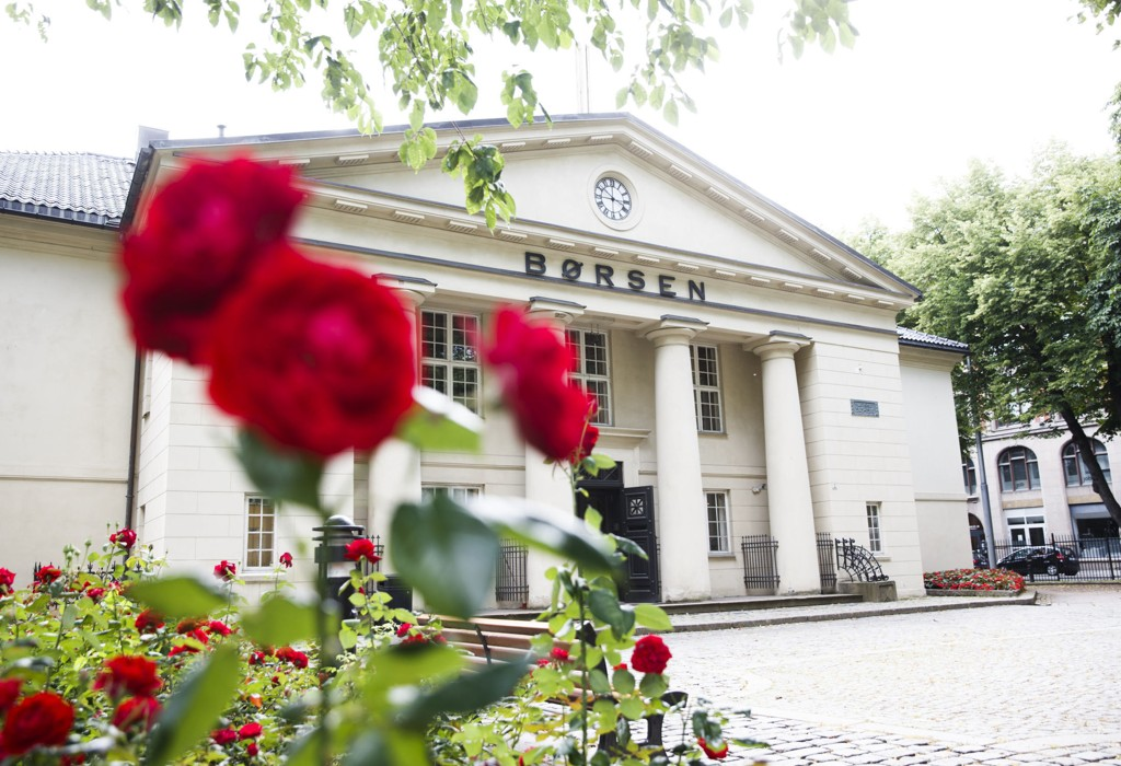 Oslo Børs falt mandag. Foto: Berit Roald / NTB scanpix