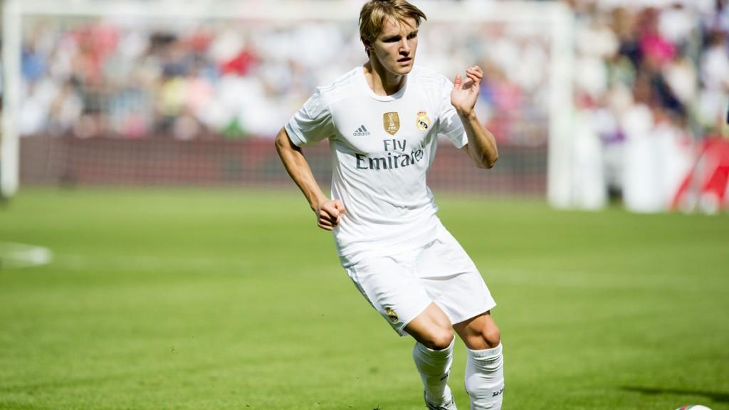 UTELATT: Martin Ødegaard er ikke tatt ut i Real Madrids tropp til mesterligakampen mot Sjakhtar tirsdag.