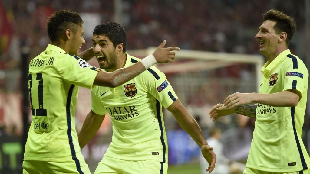 MESTERE: Lionel Messi, Neymar og Luis Suarez vil også denne sesongen utgjøre forskjellen for Barcelona.