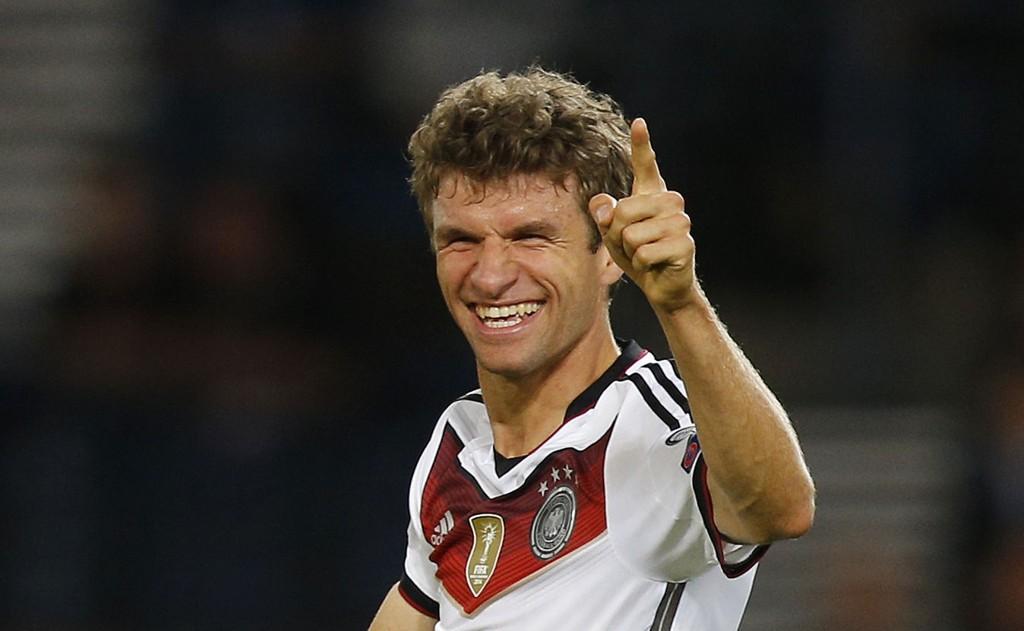 BOMBER: Thomas Müller er virkelig i siget for tiden.