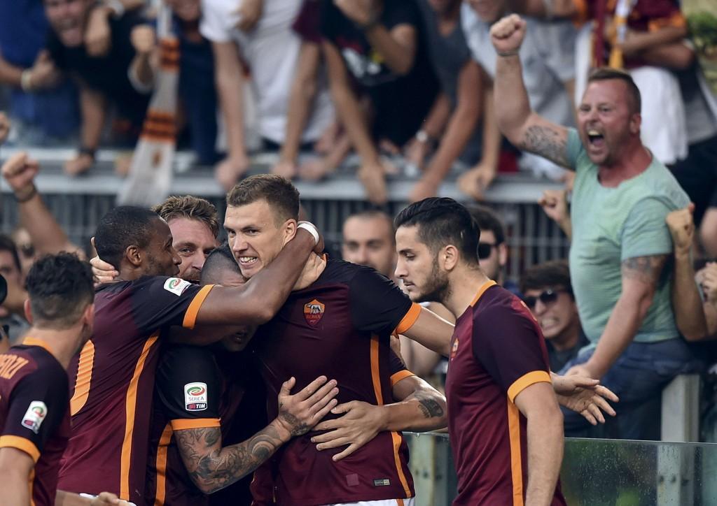 HYLLES: Det finnes neppe bedre måter å bli folkehelt i Roma på, enn å senke Juventus på Stadio Olimpico.