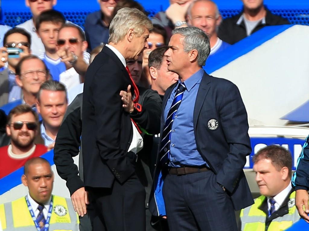 NO LOVE LOST: José Mourinho og Arsene Wenger har lite til overs for hverandre.