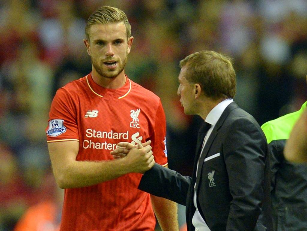 MER SKADETRØBBEL: Jordan Henderson kan ikke spille mer fotball på to måneder. Nok en dårlig nyhet for Liverpool-manager Brendan Rodgers.