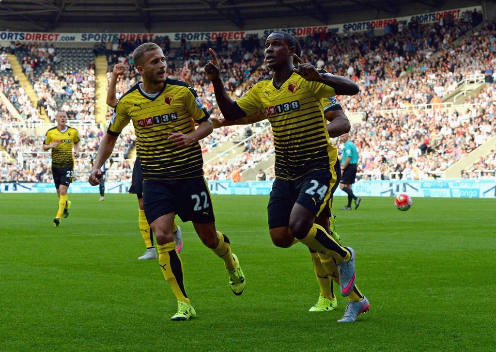 FIN FORM: Odion Ighalo sørget for to nye mål da Newcastle ble slått på bortebane, og står dermed med fire scoringer så langt denne sesongen.