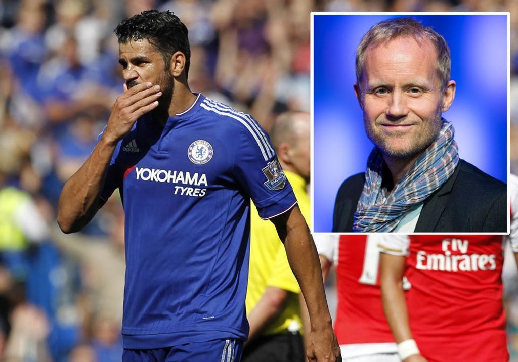 FORTSETTER SÅ LENGE HAN FOR LOV: Øyvind Alsaker er sikker i sin sak: Chelsea kommer ikke til å be Diego Costa om å legge vekk sine utenomsportslige fakter så lenge han ikke blir straffet av dommerne.