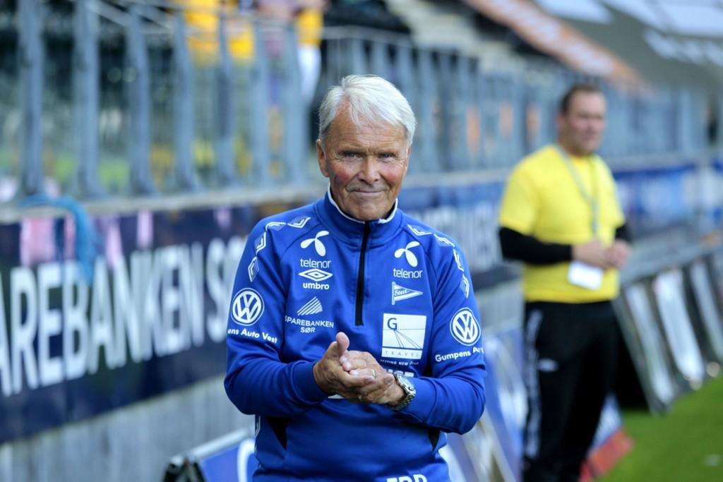 LOJAL: Erik Ruthford Pedersen har tilbrakt en mannsalder i Start.
