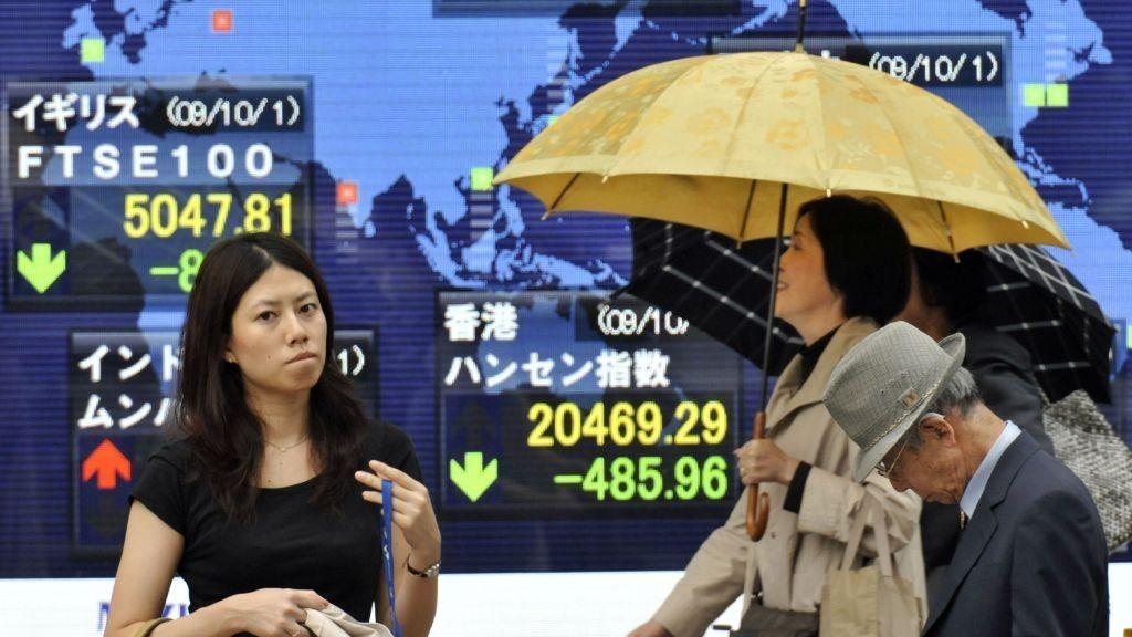 Børsen faller sterkt i Japan onsdag 24.09.15.