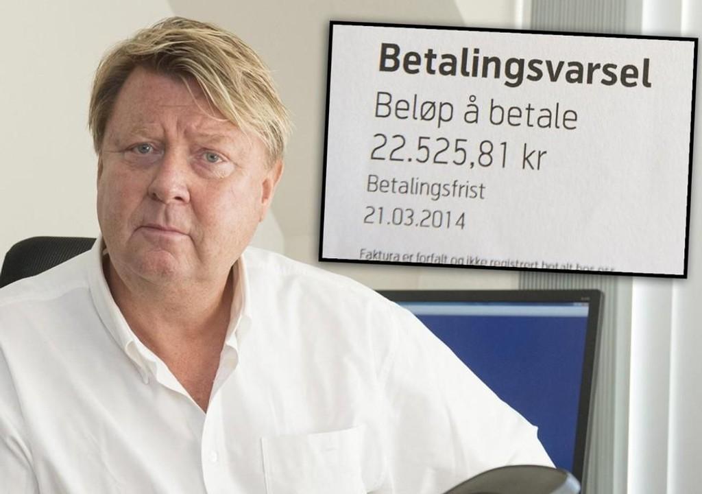 Arve Hæreide ble frastjålet mobiltelefonen på ferie. Han nekter å betale regningen på over 22. 000 kroner. Nå møter han Telenor i retten.