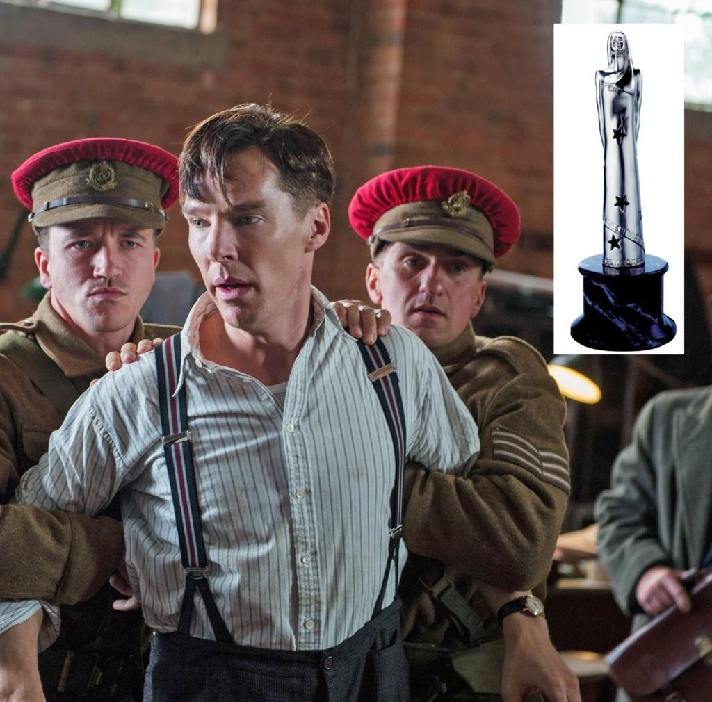 KAN VINNE: The Imiation Game, skapt av Morten Tyldum, med Benedict Cumberbatch i hovedrollen er nominert til People's Choice Awards under årets European Film Awards.