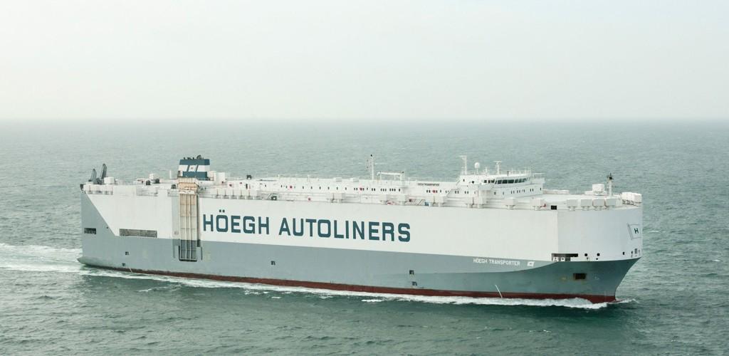 FÅR SEILE VIDERE: Det norske skipet Höegh Transport ble arrest i Kenya etter at det ble funnet våpen. Skipet har nå fått seile videre, ifølge selskapet.
