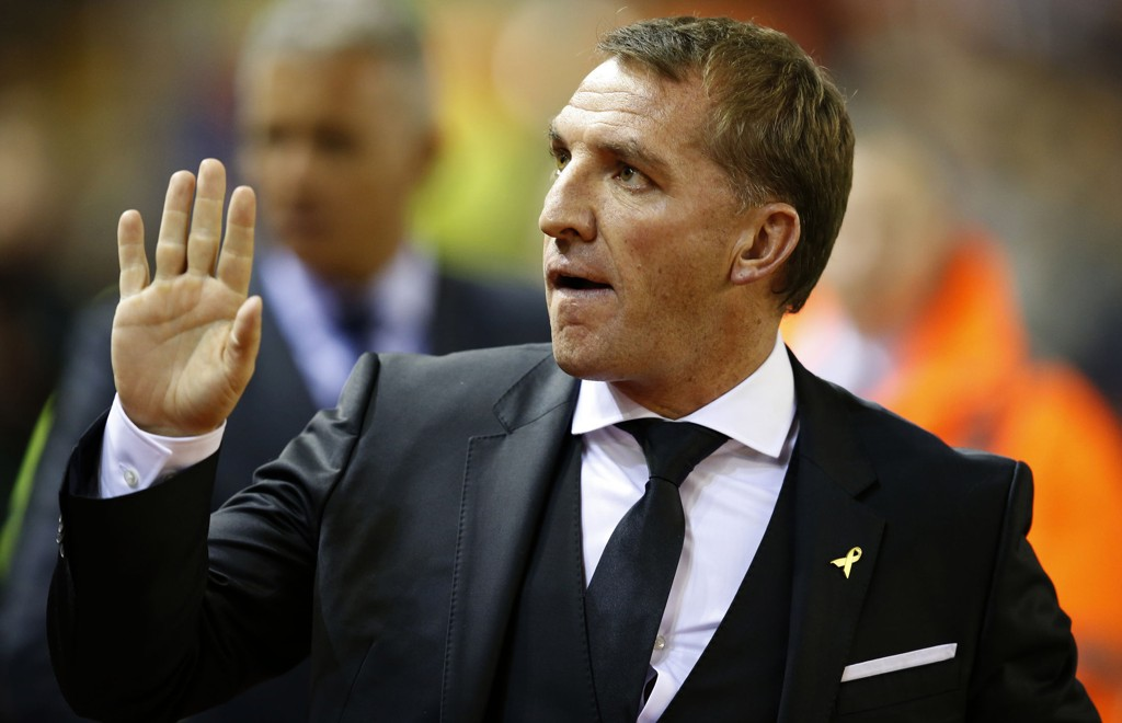 UNDER PRESS: Liverpool-manager Brendan Rodgers.