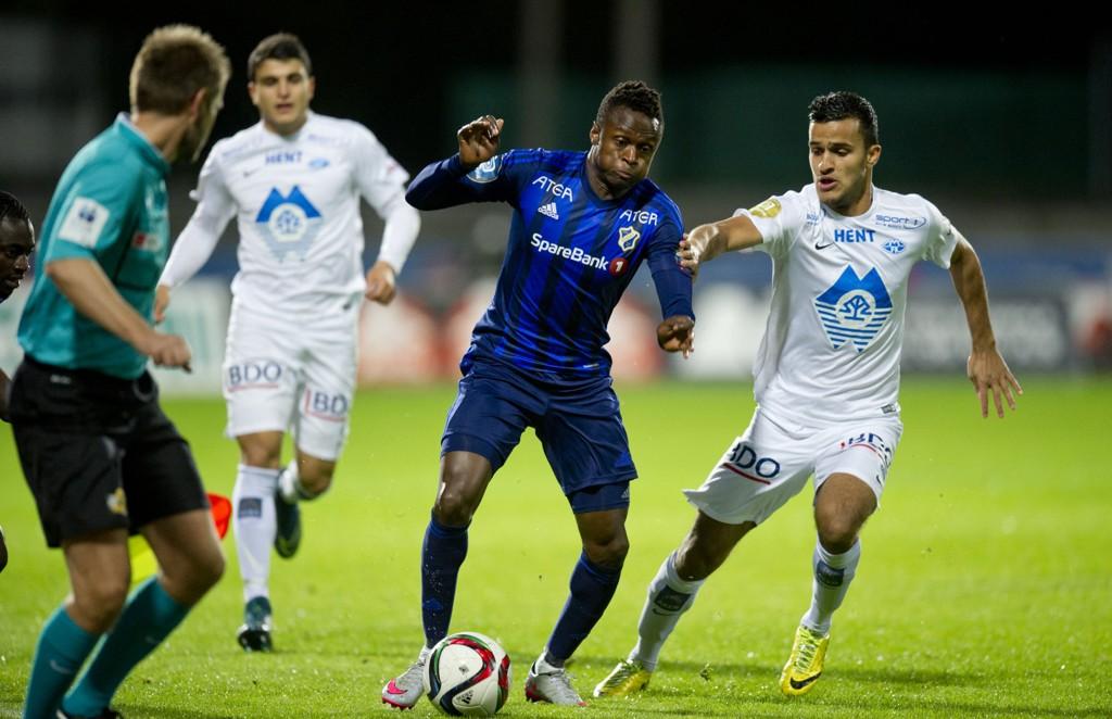 FULLKLAFF: Han utgjorde forskjellen på lagene på den omgangen han spilte. Med et fantastisk treff scoret Stabæks Muhamed Keita mål på Nadderud, noe verken Harmeet Singh eller noen andre i Molde klarte.