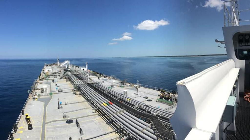Skipet Voss Spirit til Tanker Investments.