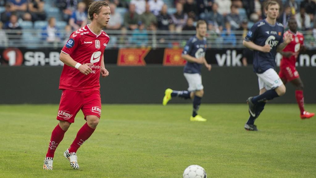 Fredrik Haugen har vært i strålende form den siste tiden. Foto: Carina Johansen / NTB Scanpix