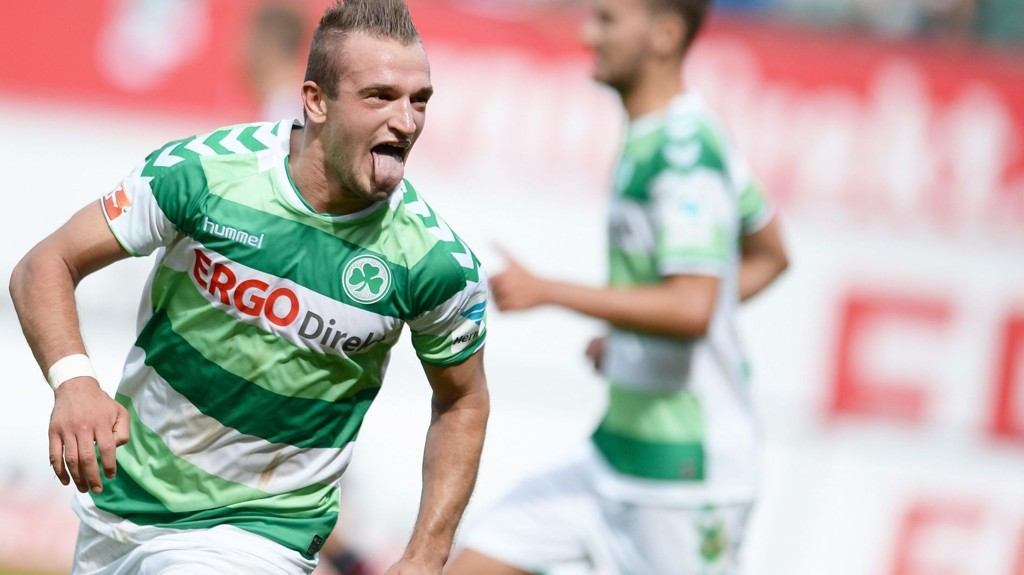 Veton Berisha spilte 65 minutter i Greuther Fürths 1-0-seier over Eintracht Braunschweig. Spissen hadde en målgivende pasning.