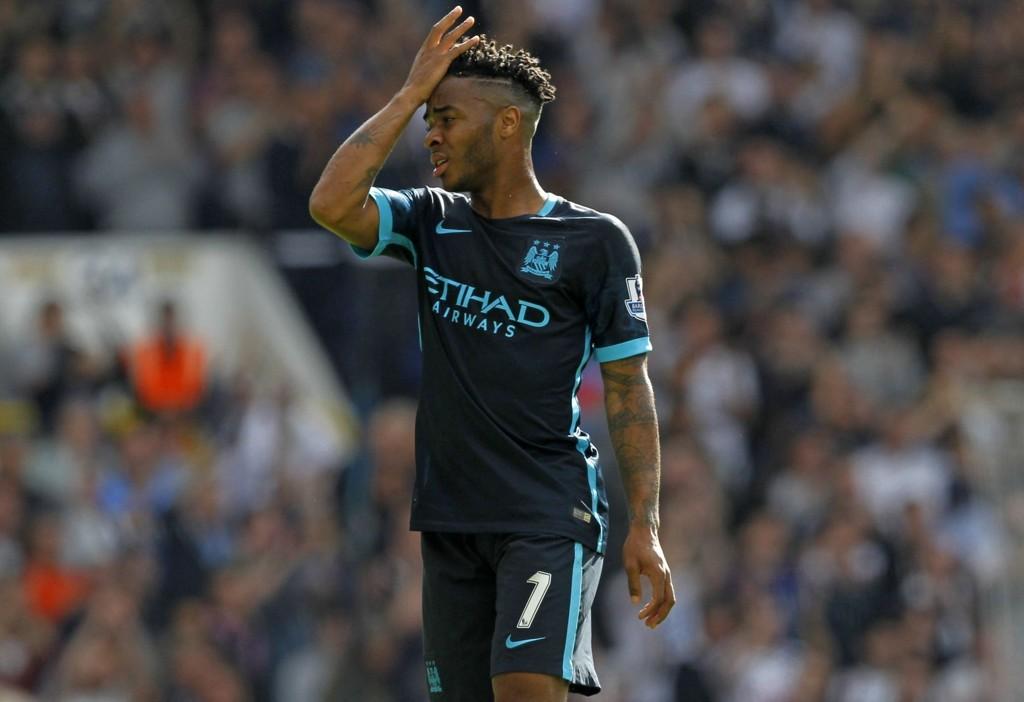 IKKE SLÅTT TIL: Raheem Sterling har ikke hatt en drømmestart på tilværelsen i Manchester City.