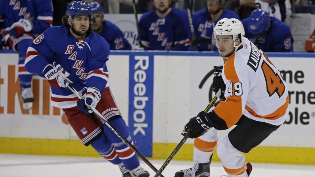 Mats Zuccarello og New York Rangers vant nok en treningskamp onsdag.