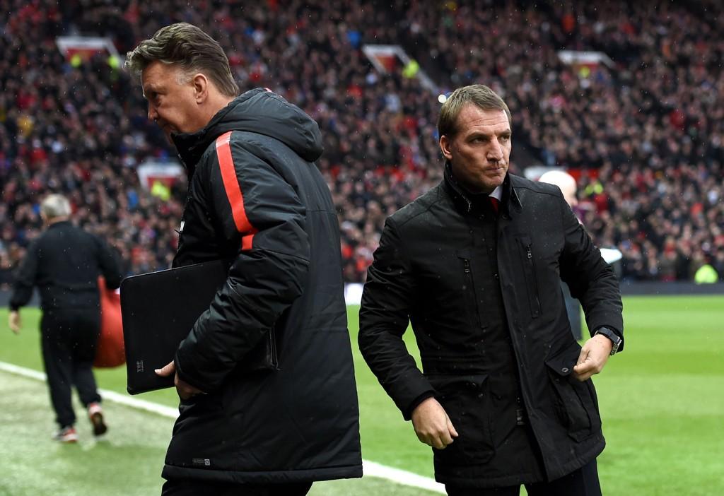 Liverpool-manager Brendan Rodgers (høyre) skal være ute etter 19-åringen Demarai Gray.