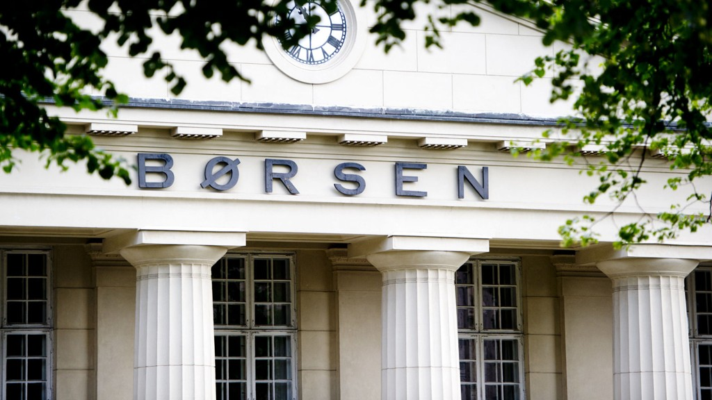 Oslo 20150715. Inngangspartiet til Oslo børs i Oslo sentrum. Foto: Jon Olav Nesvold / NTB scanpix