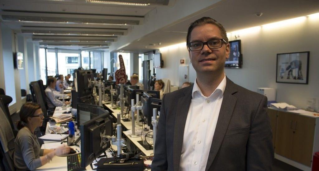 Makroøkonom Marius Gonsholt Hov i Handelsbanken.