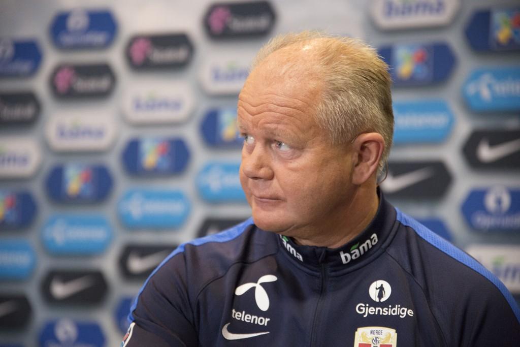 FRAMGANG: Per-Mathias Høgmo og Norge klatrer på FIFA-rankingen.