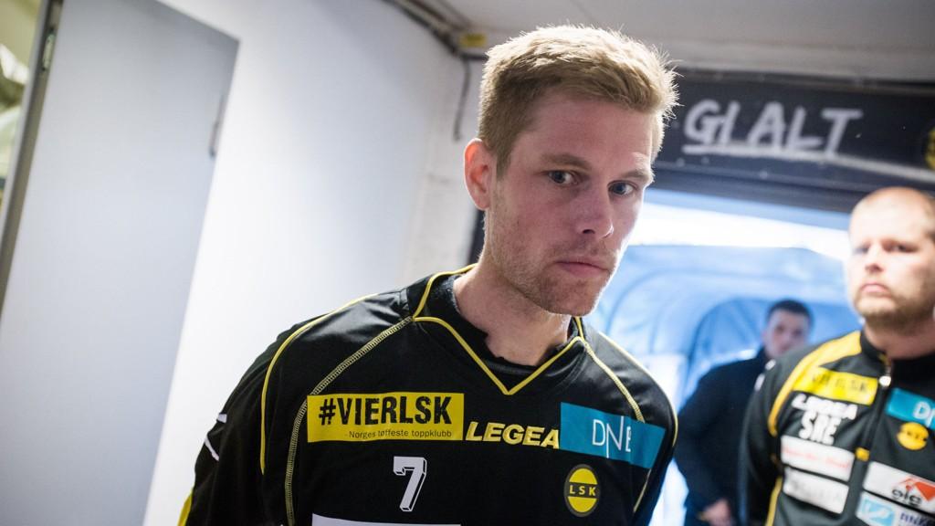 FERDIG: Johan Andersson har spilt sin siste kamp denne sesongen.