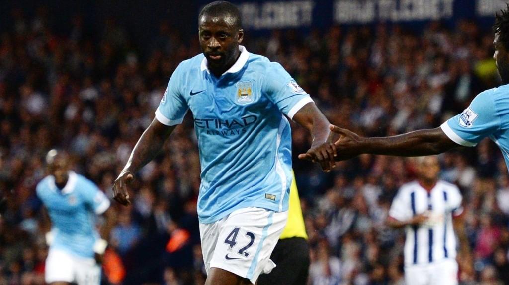 I GOD FORM: Yaya Toure har vært bra denne sesongen, men mister trolig helgens kamp mot Newcastle.