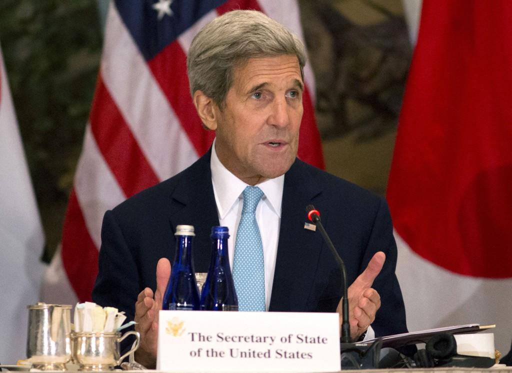 Amerikanske medier spekulerer på at USAs utenriksminister John Kerry kan bli tildet Nobels fredspris.