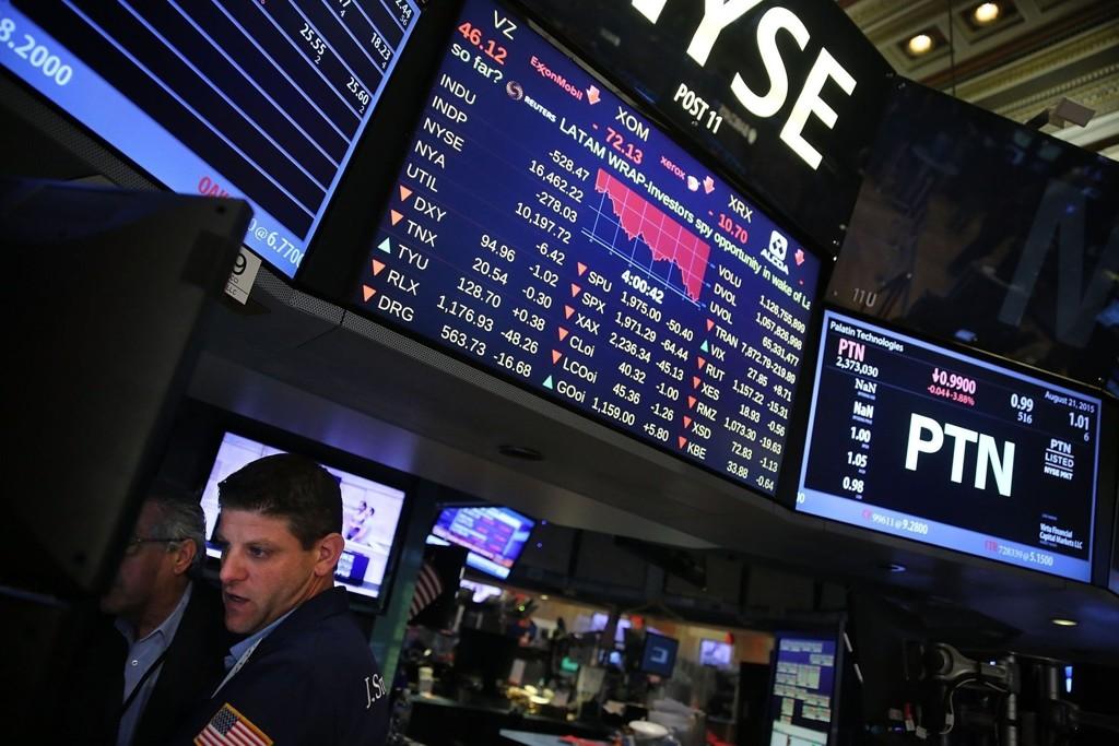 SPENT STEMNING: Fredag kan bli en tøff dag på Wall Street.