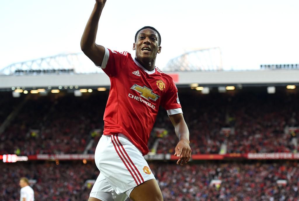 TALENT: Anthony Martial har imponert stort i sine første kamper for Manchester United.
