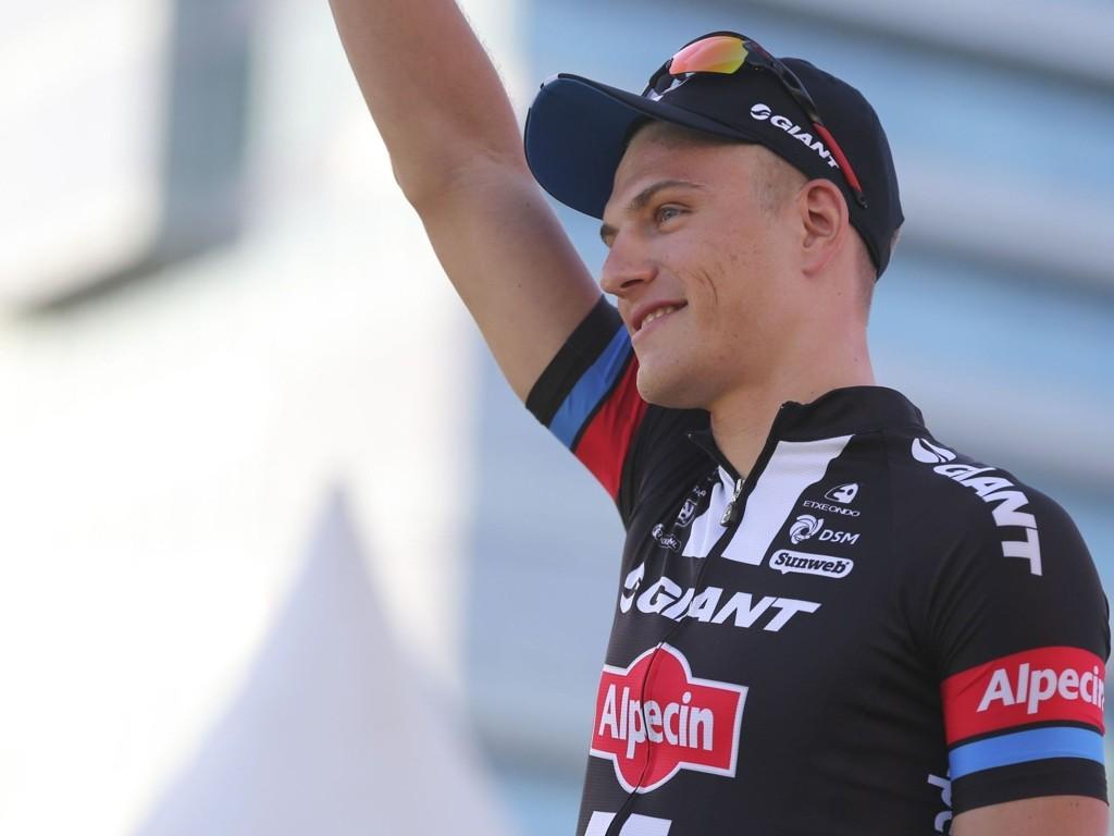 BYTTER ARBEIDSGIVER: Forholdet mellom den tyske sykkelstjernen Marcel Kittel og lagledelsen i Giant-Alpecin har surnet. Nå skiller de lag. Bildet er fra Tour Down Under i begynnelsen av 2015.