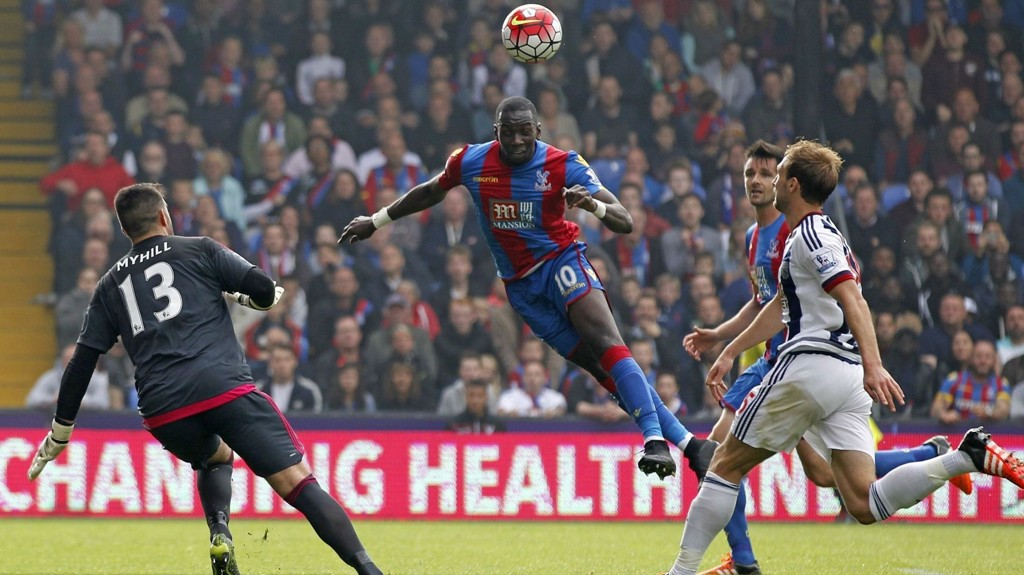 JAA: Yannick Bolasie scorer for Palace.